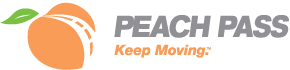 Peach Pass Keep Moving logo images